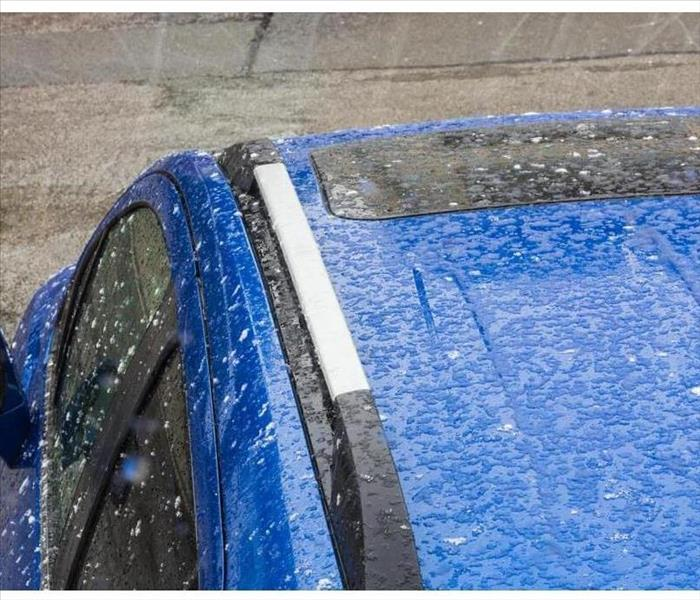 Storm Damage Tips on protecting your vehicle during a hail storm