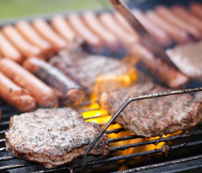 Why SERVPRO 9 Tips for Safe Summer Grilling