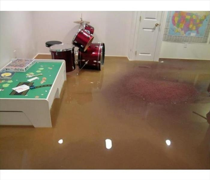 Water Damage We Specialize in Flooded Basement Cleanup and Restoration