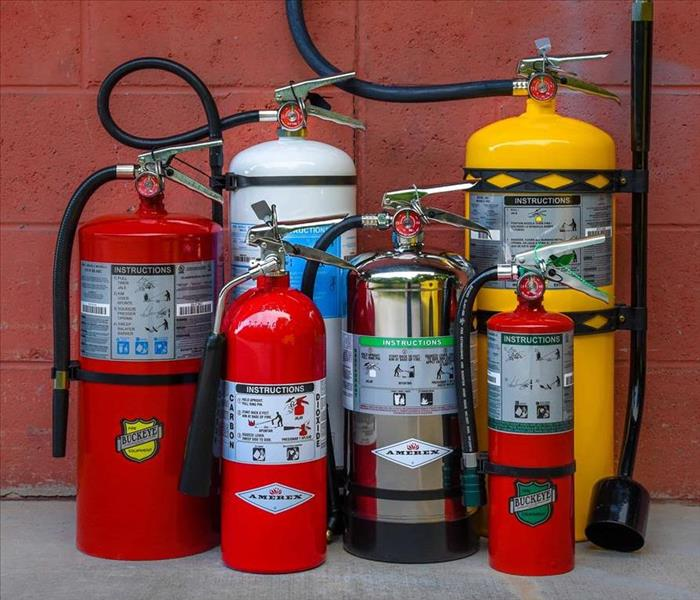 Fire Damage Types of Fire Extinguishers